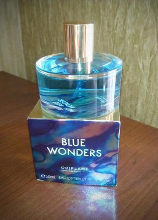 Blue wonders oriflame 50 мл морская туалетная вода3 фото