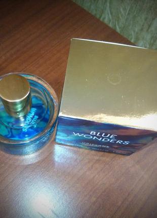 Blue wonders oriflame 50 мл морская туалетная вода2 фото
