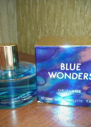 Blue wonders oriflame 50 мл морская туалетная вода1 фото