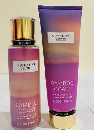 Парфюмированный спрей для тела victoria's secret bamboo coast