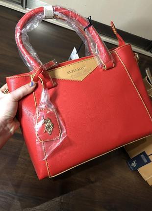 Новая сумка u.s. polo assn. брендовая оригинал с бирками