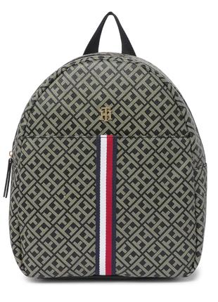 Рюкзак tommy hilfiger в логотип бежевый