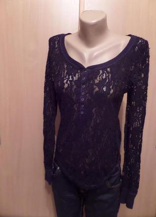 """Красивая блуза """"guipure""""с америки  --зимняя обнова /летняя распродажа"""