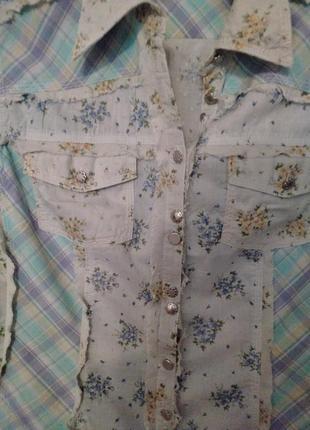Блузка блуза под джинсы, натуральный состав. размер 46-48-50. next.