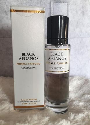 Парфюмированная вода black afganos morale parfums 30 ml.