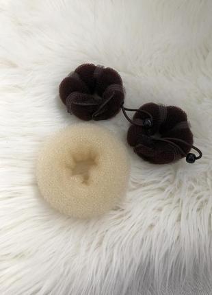 Специальные валик для создания пучка причёсок, валик для прически, бублик