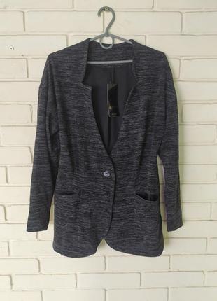 Вязаный пиджак 50 размер