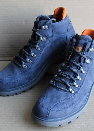Ботинки caterpillar prime blue nights p723525 оригинал натуральный нубук