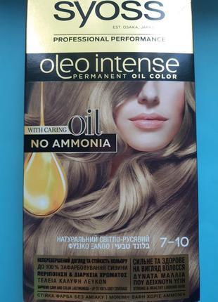 Краска для волос syoss oleo intense без аммиака