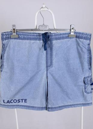 Оригинальные плавательные шорты от lacoste мужские
