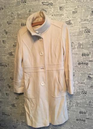 Шикарное пальто в рубчик new look