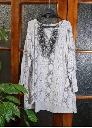 Блуза ткань масло