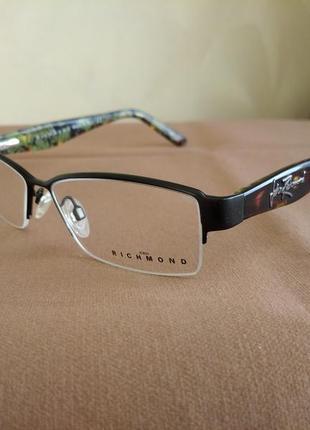 Супер цена! фирменная полуободковая оправа под линзы,очки оригинал richmond jr182-04
