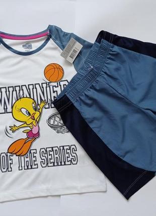 Спортивный костюм для девочки looney tunes р.122/128