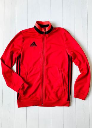 Шикарная красная кофта adidas на подростка/мальчика. размер 13-14y (14-164)