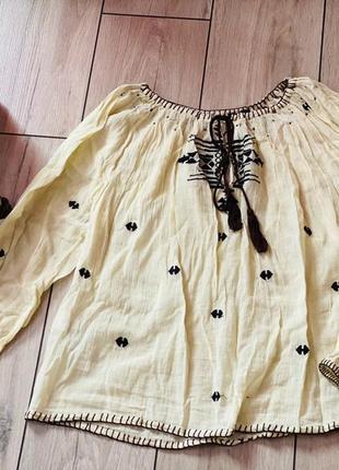 Вышиванка, вышитая блузка