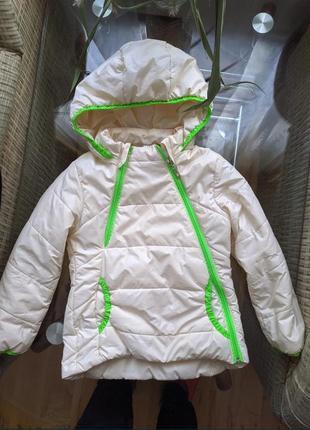 Куртка , курточка для дівчинки