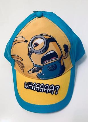 Стильна кепка minion