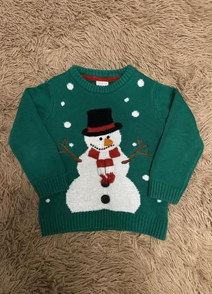 Распродажа. новогодний свитерок