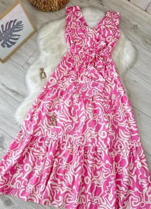 Нереальное платье макси