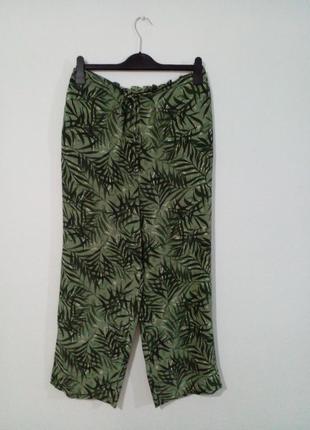 Летние брюки натуральный шелк  valentine
