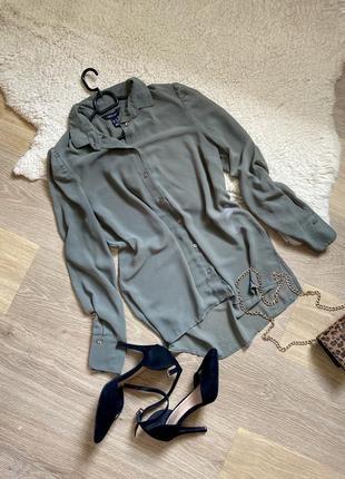 Блуза , рубашка , накидка от new look размер от с до л