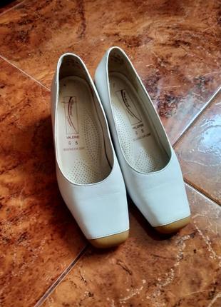 Кожаные туфли (германия) medicus