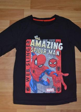 Кофта, реглан на мальчика 6-7 лет, кофта человек паук