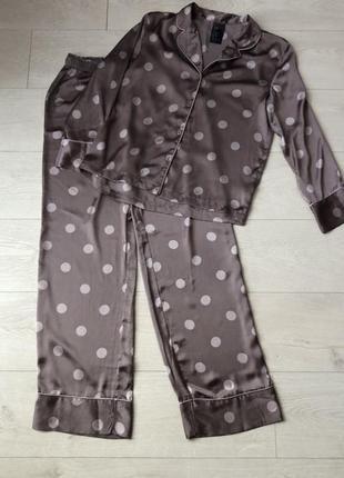 Пижама в горошек от h&m