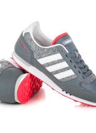 Новые кроссовки adidas neo city racer адидас