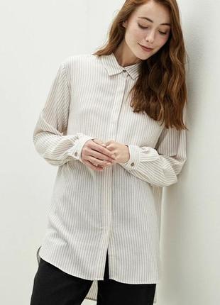 Рубашка оверсайз стильная тренд года 2021