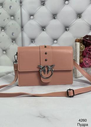 Пудровая сумка клатч пинко pinko