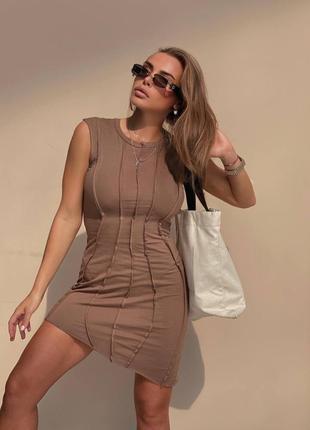 Платье мулан без рукава💔