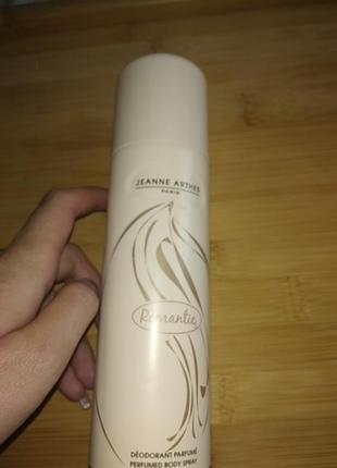Парфумований дезодорант спрей для тіла perfumed body spray jeanne arthes paris