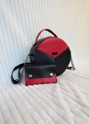 """Изящный клатч + кошелечек в подарок """"tati"""" handmade"""
