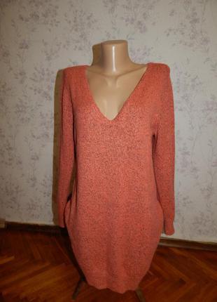Atmosphere платье - туника теплое вязка р 8 s большемерит
