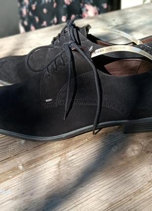 Шикарные замшевые туфли премиум класса lloyd 44-45