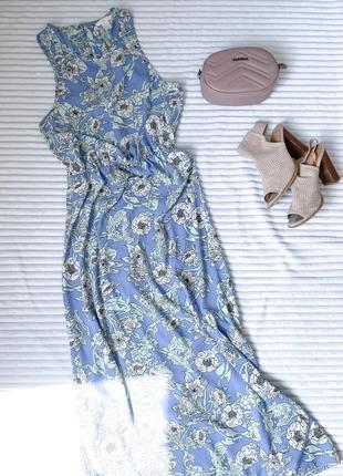 Платье, длинное, летнее, h&m