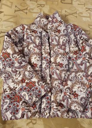 Куртка на кнопках