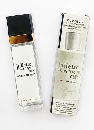 Мини парфюм juliette has a gun not a perfume, 40мл