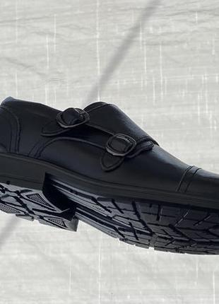 Черные улётные туфли монки