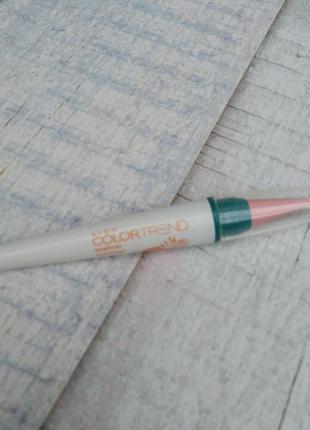 Карандаш для глаз avon colortrend цвет energy pink