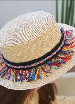 Соломенная шляпа/конотье