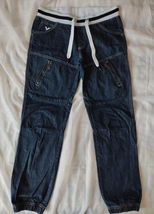 Джинсы на резинке+шнурок-voi jeans co.-uk10 -46 размер