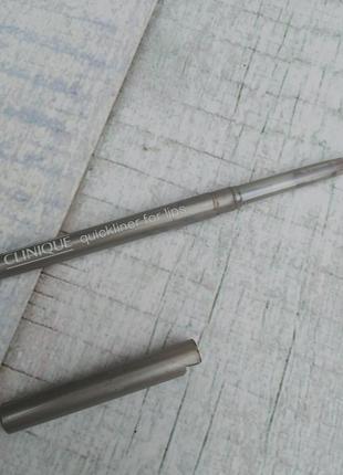 Автоматический контурный карандаш для губ clinique 34 warm raisin