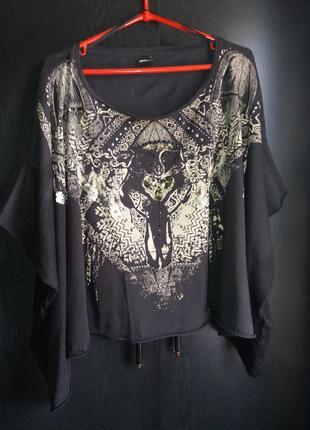 Распродажа-футболка-топ в стиле бохо gina tricot p.l