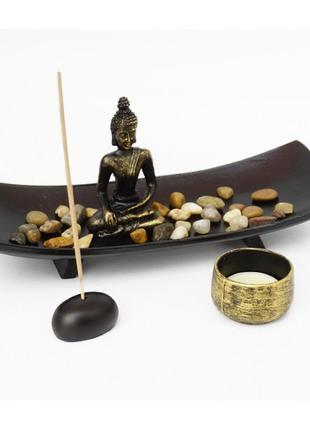 Сувенир дзен набор сад камней будда №3