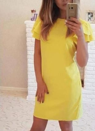 Сукня з гарним рукавчиком. різні кольори. розміри від 24 до 70