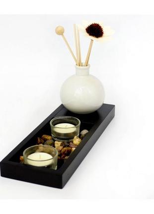 Сувенир арома набор сад камней ваза