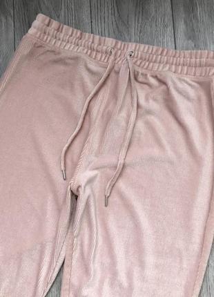 Спортивні штани спортивные штаны в рубчик topshop